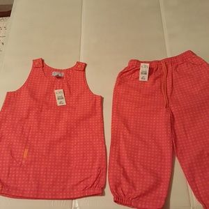 NWT CHILDREN'S PLACE SZ 24 MOS CHECKERED OUTFIT